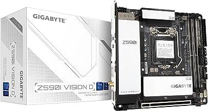 گیگابایت Z590I Vision D (LGA 1200/ Intel/ Z590/ Mini-ITX/ Dual M.2/ PCIe 4.0/ USB جلو Type-C/ Intel WiFi 6/ 2.5GbE LAN/ مادربرد)