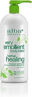 Alba Botanica Very Emollient Herbal Healing Lotion, 32 Oz