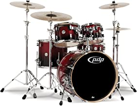 Pacific Drums PDCB2215CB Concept Series 5-Piece Drum Set - Cherry to Black Fade