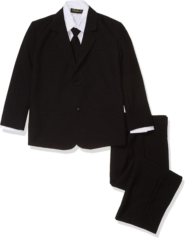 Rafael Boys' Classic Fit Formal Dress Suit Set