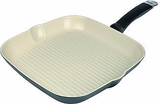 KUHN RIKON Ceramic Inducción Grill - Sartén, 28 x 28 cm