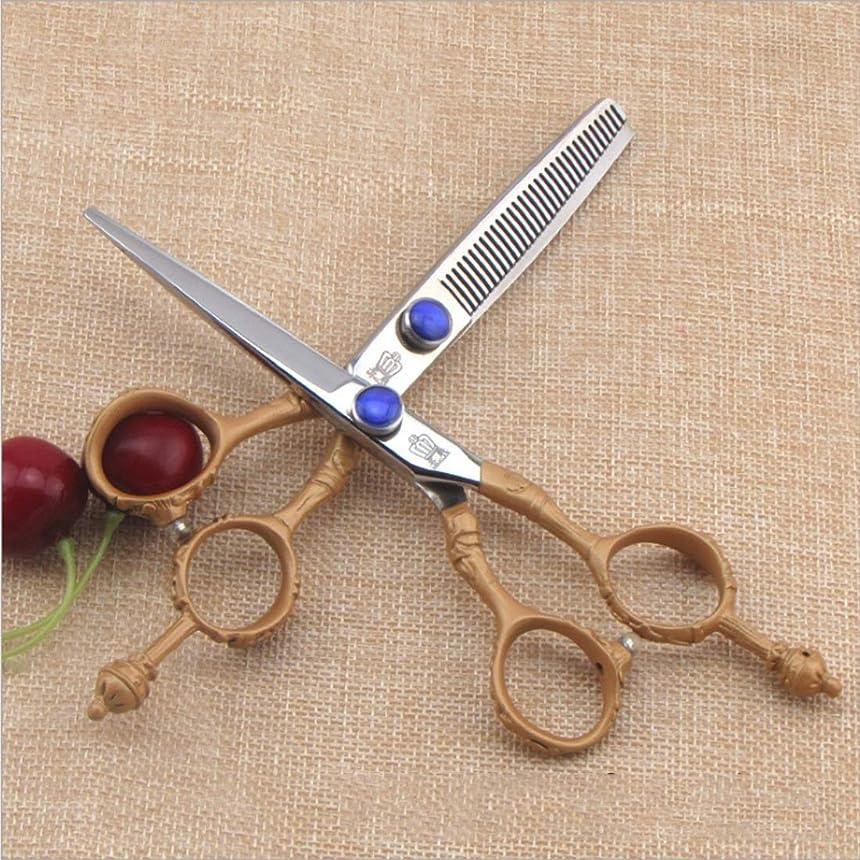 参照アリーナスクランブルハイエンド理髪はさみ - 髪を薄くするはさみキット、プロの理髪師はさみ モデリングツール (Design : B)