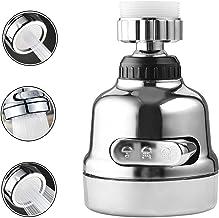 BestRec Adjustable Faucet Sprayer Head, 3 Modes Adjustable Faucet Sprayer Head, 360° Rotatable Water Saving Faucet, Anti S...