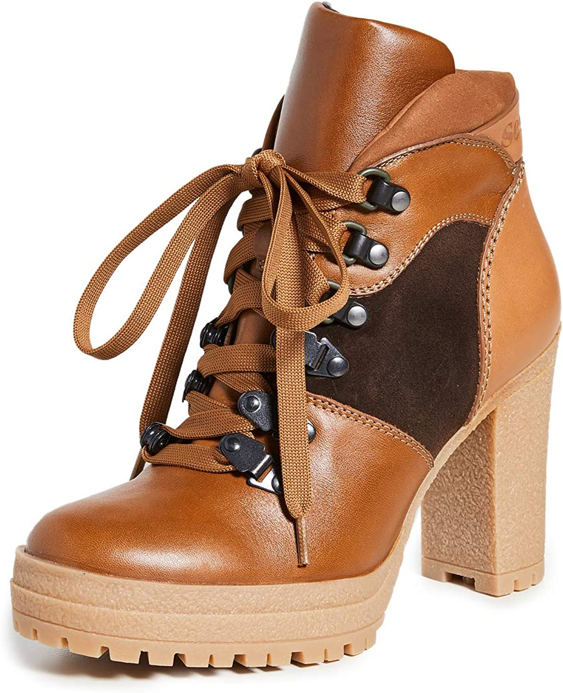 See by Chloe Women's Aure Platform Hiker Boots