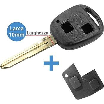 controllare foto e dettagli compatibilit/à 1383Kit Production Chiave Scocca-Guscio-Cover Key TOYOTA senza Logo Con Lama 8mm Speculare G.M