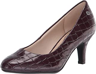LifeStride womens Parigi Pump, Pinot Noir, 7.5 US