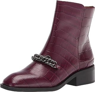 حذاء حتى الكاحل من Franco Sarto للنساء، توت عطري، 6