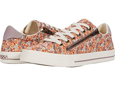 Taos Footwear Z-Soul (Peach Floral Multi) Women