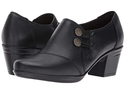 Clarks Emslie Warren (Black Leather) Women