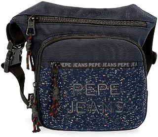 Pepe Jeans Hike Riñonera Azul 31,5x24x1,5 cms Poliéster