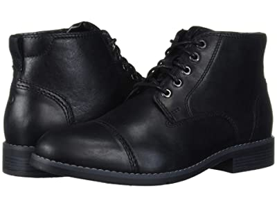 Rockport Colden Cap Plain Toe (Black) Men