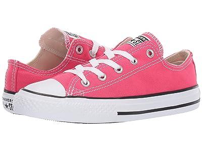 Converse Kids Chuck Taylor(r) All Star(r) Seasonal Ox (Little Kid/Big Kid) (Strawberry Jam) Girl