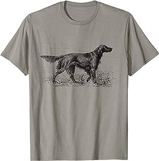 Irish Setter Dog vintage Dog Lover owner gift dog dad mom T-Shirt