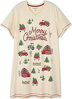 Little Blue House Women's Country Christmas Sleepshirt