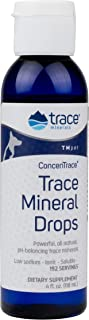 Trace Minerals TMpet Concentrace Mineral Drops 4oz. Dog, Cat, Animal, Magnesium, Hair, Skin, Teeth, Stress.