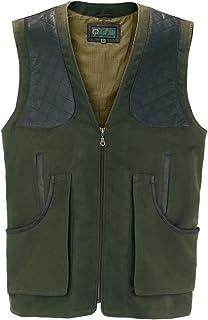 002M : Men's Green Moleskin Shooting Vest