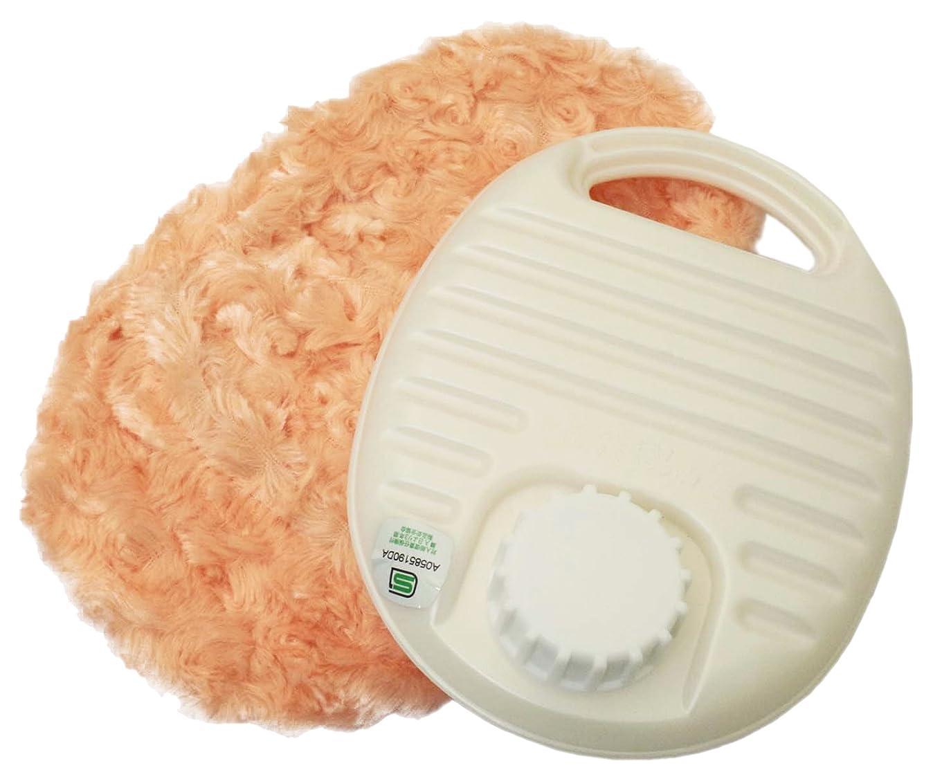 固執操作差し迫った辻本プラスチック 湯たんぽ ふわふわ カバーセット 0.6L オレンジ