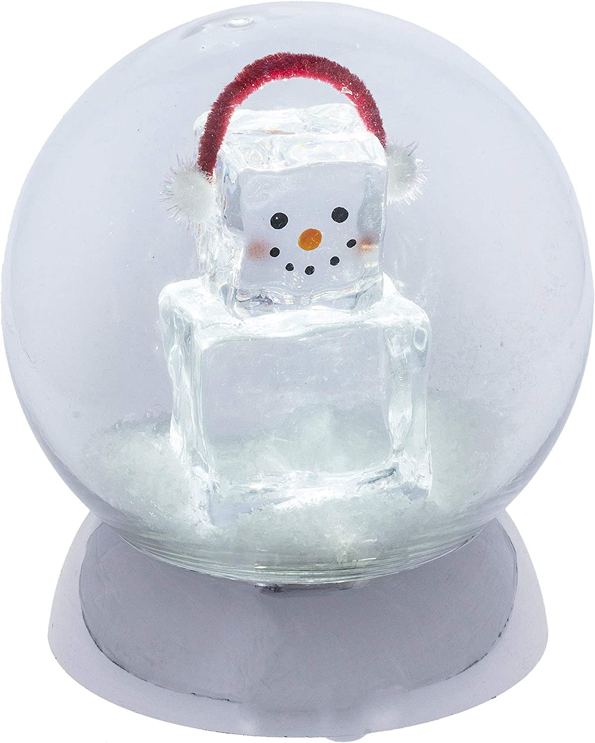 Midwest-CBK 67% OFF of fixed Daily bargain sale price Lighted LED Shimmer Globe Fella Ice