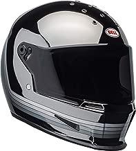 Bell Eliminator Street Motorcycle Helmet (Spectrum Matte Black/Chrome, X-Large)
