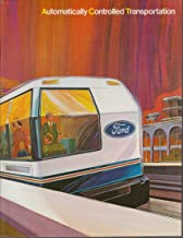 Ford ATC Automatically Controlled Transportation Transit brochure 1972