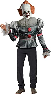 Rubie's Men's IT Movie Chapter 2 Adult Pennywise Deluxe Costume