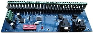 27 CHANNEL 9 GROUP DMX512 XLR Dimmer LED Driver Controller/Decoder For LED Strip