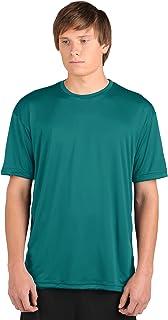 product image for WSI Microtech Loose Short Sleeve Shirt, Teal, Medium