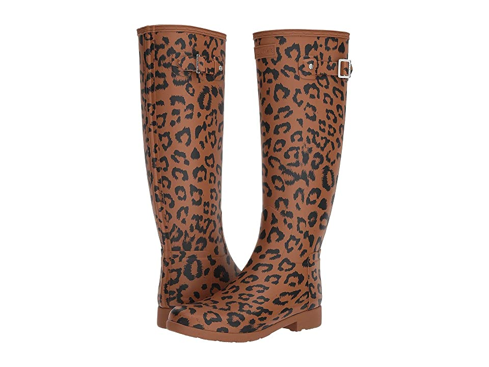 Hunter Original Refined Hybrid Print Rain Boots (Thicket) Women