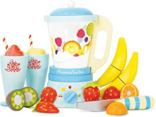 Le Toy Van Honeybake Collection Blender & Wooden Fruit Set Premium Wooden Toys for Kids Ages 3 Years & Up