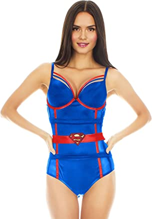de3ffa4cfd Underboss DC Comics Womens Ladies Super Hero Bodysuit (See More Designs and  Sizes)