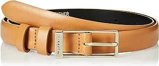 Calvin Klein Women's WINGED 2.0 Belt, Brown, 75 cm