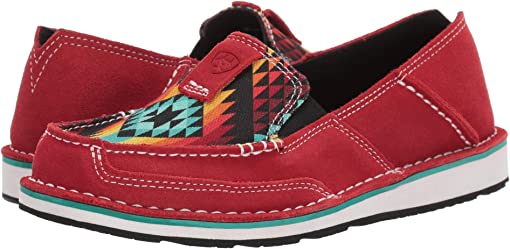 Ruby Suede/Black Serape