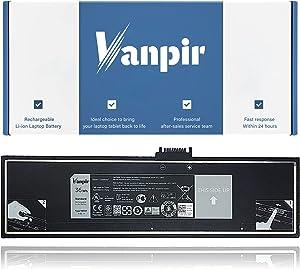Vanpir HXFHF Laptop Battery 7.4V 36Wh 4855mAh Replacement for Dell Venue 11 Pro 7130 7139 Tablet Series Notebook VJF0X VT26R XNY66 451-BBGR 0VT26R 0VJF0X