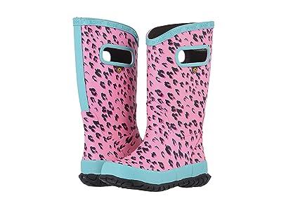 Bogs Kids Rain Boots Leopard (Toddler/Little Kid/Big Kid) (Pink Multi) Girls Shoes