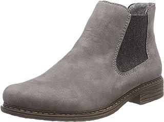 Rieker Women's Z2194 Chelsea Boots, Grey (Grey/Anthrazit 40)