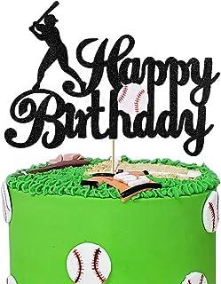 Baseballs Theme Kids Birthday Party Decorations Baseballs Theme Cake Topper Baby Shower Supplies Baseball Theme Rokie Year Banner Birthday Party Decorations R00KIE Cake Topper