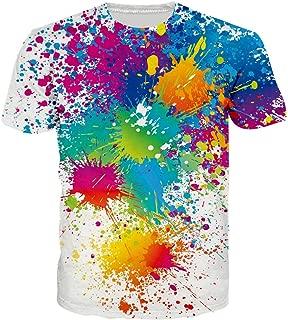 Best rainbow paint drip shirt Reviews