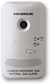 Universal Security Instruments M Series Plug-In Carbon Monoxide and Natural Gas Alarm with 9-Volt Battery Backup, Model MCN400B