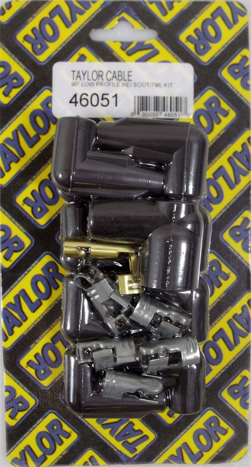 Taylor Cable 46051 Black Max 68% OFF Low Profile Distributor Coil Boot T and Limited time for free shipping