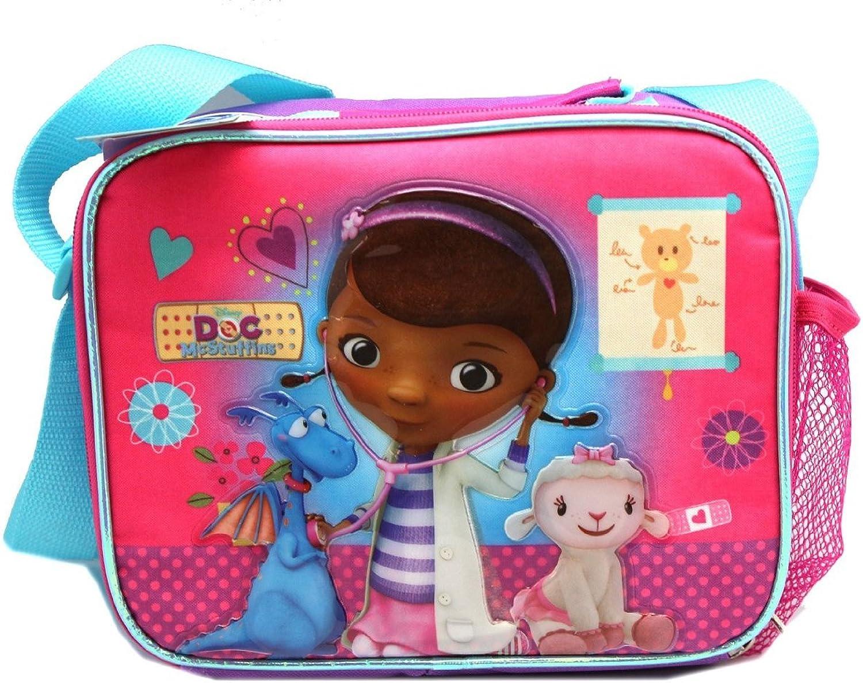 Lunch Bag – Doc McStuffins – Lila und Rosa Lamm-Check new 621940 B00M26HUI0  | Günstigstes