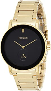 Citizen Mens Quartz Watch, Analog Display and Stainless Steel Strap - BE9182-57E