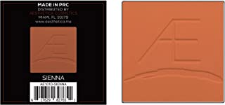 Aesthetica Cosmetics Powder Refill for Tan to Dark Powder Contour and Highlighting Palette (Sienna)