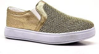 Yüksek Taban Altın Rengi Kız Çocuk Günlük Ayakkabı