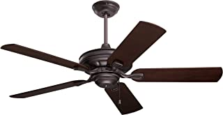 Emerson Ceiling Fans CF452ORB Bella 52-Inch Indoor Ceiling Fan, Light Kit Adaptable, Oil Rubbed Bronze Finish