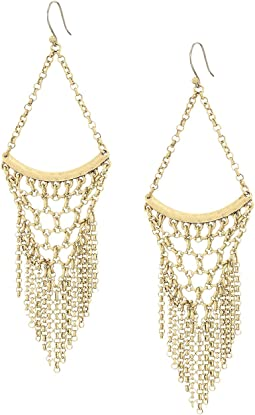 Lucky Brand - Statement Chain Earrings
