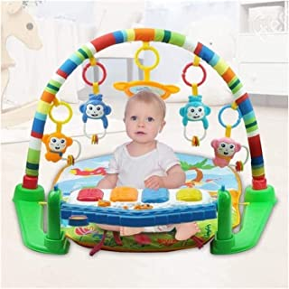 Newborn Play mat fence,Baby Play Gym Mats,Play Piano Gym Multi Infant Playmat Floor Mat with Music and Sounds Babies Activ...