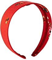Dolce & Gabbana Kids - Fiori Rossi Headband (Little Kids/Big Kids)