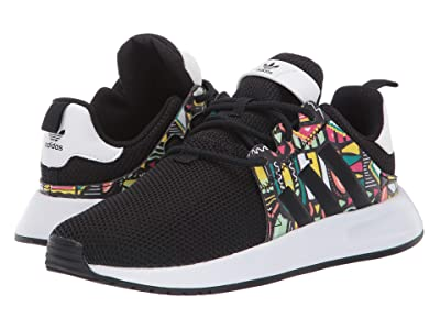 adidas Originals Kids X_PLR C (Little Kid) (Black/Print/White) Kids Shoes