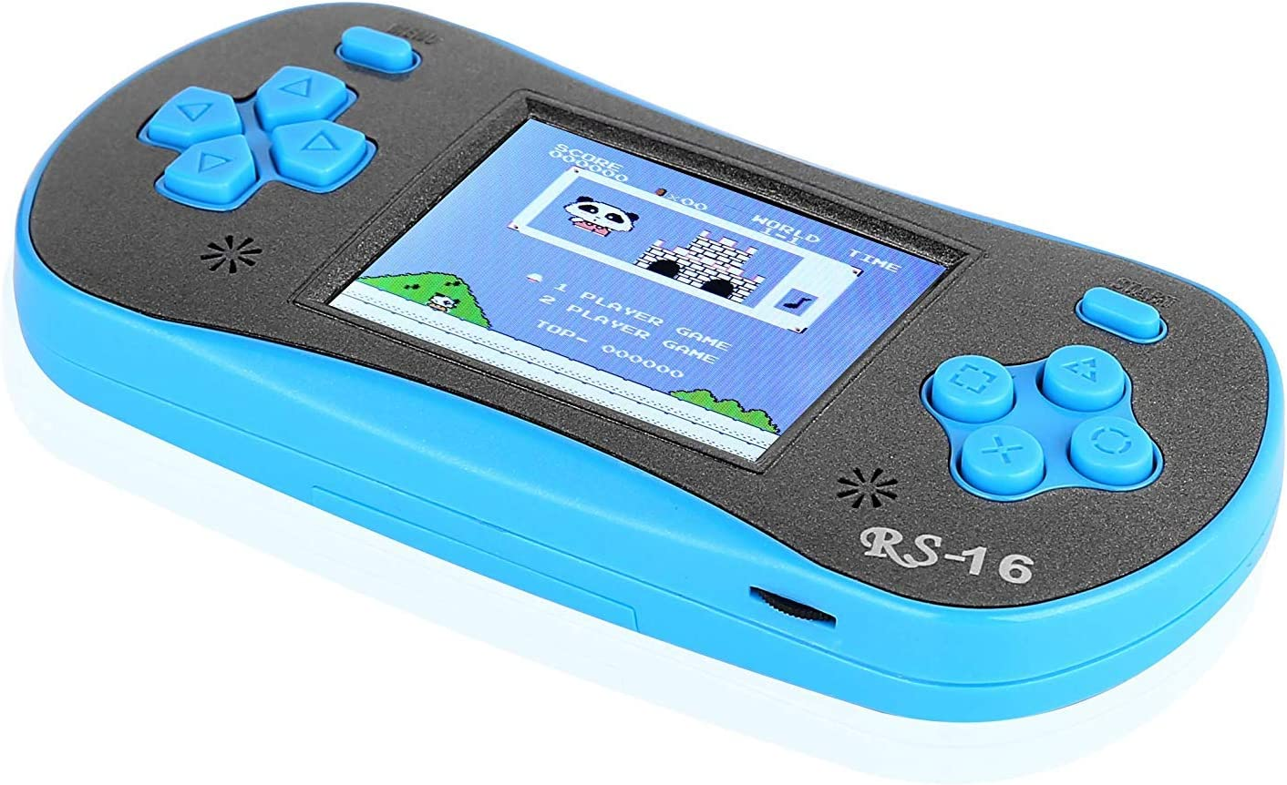 free shipping FAMILY Discount mail order POCKET RS-16 Kids Handheld Game Gamer Portable Video Retr