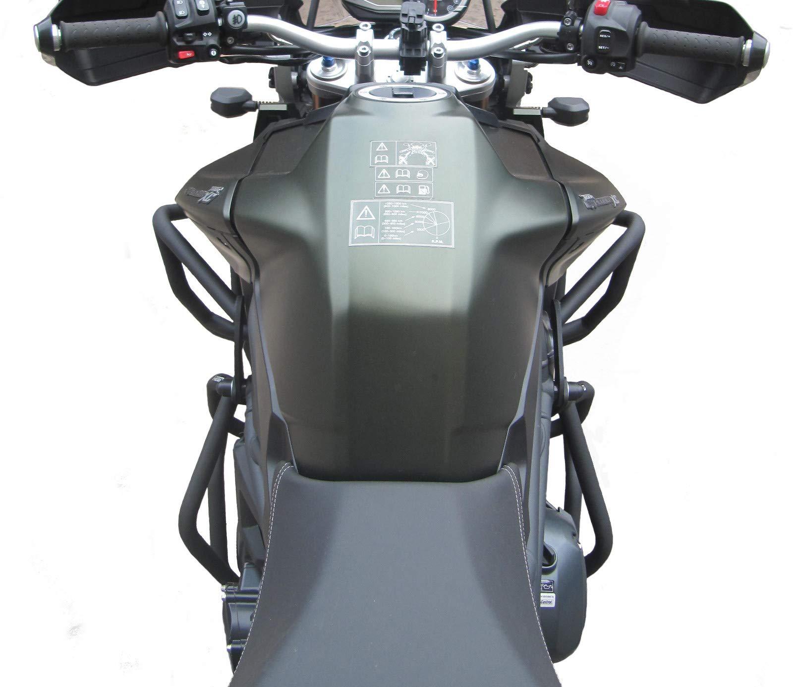 Superiore e inferiore 2012-2015 Defensa Protector de Motor Heed Triumph Tiger Explorer 1200//1200 XC